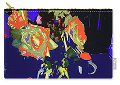Abstract Flowers Of Light Series #8 Carry-all Pouch