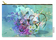 Abstract Flowers Of Light Series #9 Carry-all Pouch