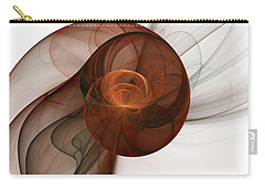 Abstract Fractal Art Carry-all Pouch by Gabiw Art