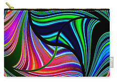 Abstract Fusion 278 Carry-all Pouch by Will Borden
