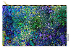 Abstract Garden In Bloom Carry-all Pouch