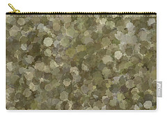Carry-all Pouch featuring the photograph Abstract Gold And Cream 2 by Clare Bambers