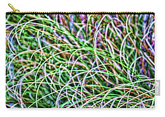 Abstract Grass Carry-all Pouch by Roberta Byram