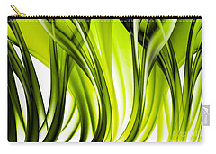 Abstract Green Grass Look Carry-all Pouch