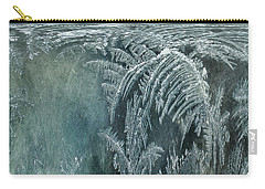 Abstract Ice Crystals Carry-all Pouch