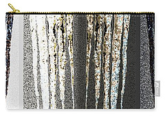 Abstract Icicles Carry-all Pouch by Will Borden