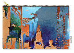 Abstract  Images Of Urban Landscape Series #1 Carry-all Pouch
