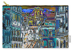 Abstract  Images Of Urban Landscape Series #11 Carry-all Pouch