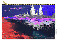 Abstract  Images Of Urban Landscape Series #14 Carry-all Pouch
