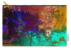 Abstract  Images Of Urban Landscape Series #4 Carry-all Pouch