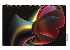 Abstract In 3d Carry-all Pouch