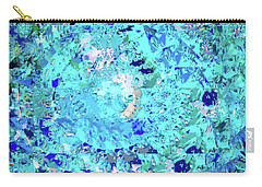 Abstract In Blue No. 56-2 Carry-all Pouch