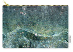 Carry-all Pouch featuring the painting Abstract In Stone by Desiree Paquette