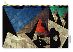 Carry-all Pouch featuring the photograph Abstract Iterations by Wayne Sherriff