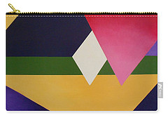 Carry-all Pouch featuring the painting Abstract by Jamie Frier