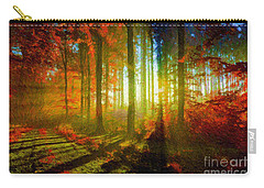 Abstract Landscape 0745 Carry-all Pouch