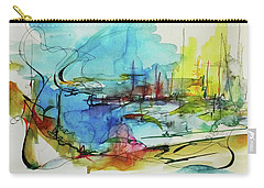 Abstract Landscape #1 Carry-all Pouch