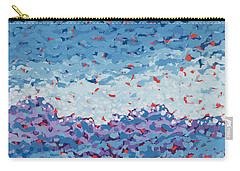 Abstract Landscape Painting 1 Carry-all Pouch