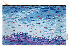 Abstract Landscape Painting 2 Carry-all Pouch