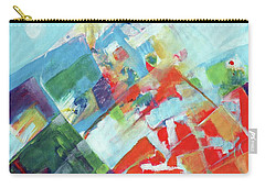 Abstract Landscape1 Carry-all Pouch