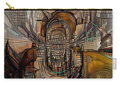 Abstract Liberty Carry-all Pouch