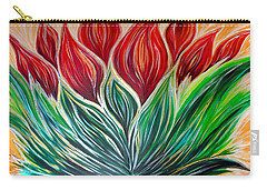 Abstract Lotus Carry-all Pouch