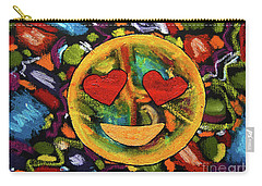 Abstract Love Carry-all Pouch by Gerhardt Isringhaus