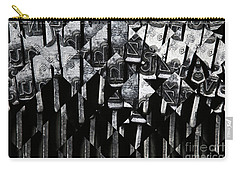 Abstract Matrix Carry-all Pouch by Michal Boubin