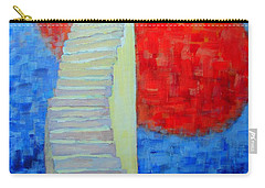 Abstract Moon Carry-all Pouch by Ana Maria Edulescu