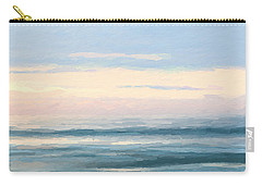 Abstract Morning Sea Carry-all Pouch
