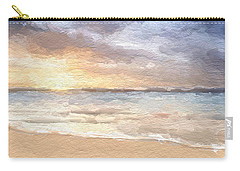 Abstract Morning Tide Carry-all Pouch