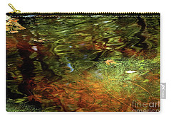Abstract Of St Croix River 04 Carry-all Pouch