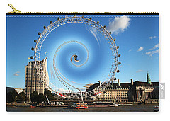 Abstract Of The Millennium Wheel Carry-all Pouch