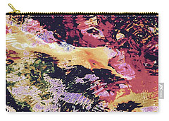 Abstract Of Water With Koi Carry-all Pouch by Tim Good