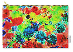 Carry-all Pouch featuring the photograph Abstract Oil  Photo by Tom Janca
