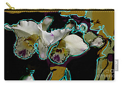 Abstract Orchids Carry-all Pouch