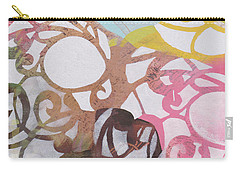 Abstract Pastel Swirls Carry-all Pouch