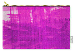Carry-all Pouch featuring the photograph Abstract Pink And Purple by Tom Janca