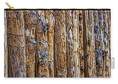 Abstract Posts Carry-all Pouch
