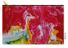 Abstract Pour Carry-all Pouch by Carolyn Repka