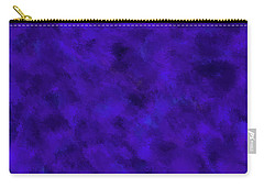 Carry-all Pouch featuring the photograph Abstract Purple 7 by Clare Bambers