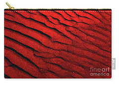 Abstract Red Sand- 2 Carry-all Pouch