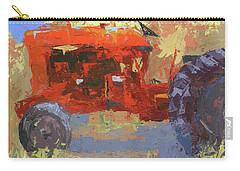 Abstract Red Tractor Carry-all Pouch