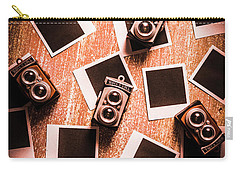 Abstract Retro Camera Background Carry-all Pouch