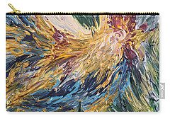 Abstract Guam Rooster Carry-all Pouch