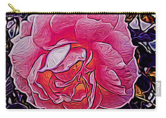 Abstract Rose 11 Carry-all Pouch