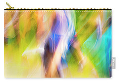 Abstract Running Carry-all Pouch