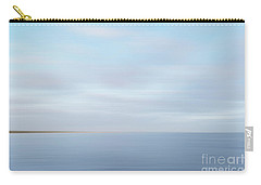 Carry-all Pouch featuring the photograph Abstract Seascape by Ivy Ho