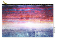 Abstract Seascape Sunset Painting 35a Carry-all Pouch