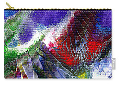 Abstract Series 0615a-3 Carry-all Pouch